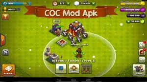 mod apk clash of clans mod apk unlimited gems coins 100 working