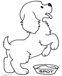 Puppy Color Pages Puppy Coloring Pages Free And Printable