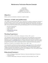 maintenance technician resume maintenance resume template professional engineer resume exles