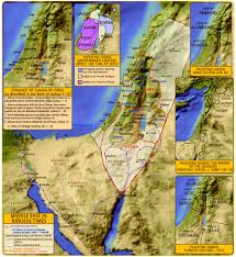 Palestine On World Map by Palestine In Biblical Times Map