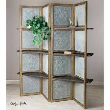 wood room dividers screens for room dividers uttermost anakaren 71 x 70 4 panel