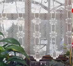 Crochet Curtain Designs Crochet Curtain Patterns 2 Beautiful Crochet Patterns And