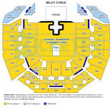 Rod Laver Floor Plan Miley Cyrus Bangerz Australia Tour 2014