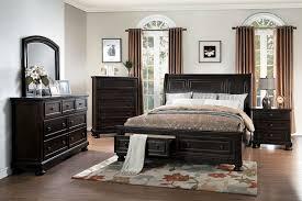 homelegance begonia sleigh platform storage bedroom set 1718gy