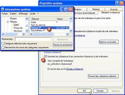 bureau a distance windows xp accédez à distance à votre ordinateur grâce à windows xp
