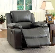 gray reclining sofa 2 pc furniture of america sarles collection gray reclining sofa