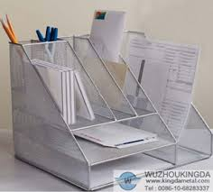 Wire Mesh Desk Organizer Mesh Desk Organizer Mesh Desk Organizer Supplier Wuzhou Kingda