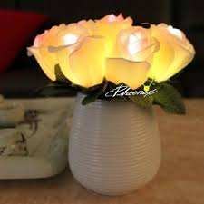 Flower Table Lamp Ceramic Bottle Of Flowers Led Table Lamp 8287 Browse Project