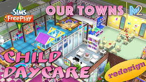 sims freeplay child daycare remodeled original house design