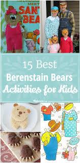 Craft Activities For Kids 15 Best Berenstain Bears Activities For Kids Tip Junkie