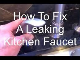 fix a leaking kitchen faucet fix a leaking kitchen faucet
