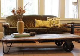 Industrial Rustic Coffee Table Rustic Coffee Table With Wheels Design Industrial Rustic Coffee