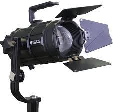 Barn Doors Lighting by Pocket Cannon Focusable Led Fresnel 3 Light Kit U2013 Intellytech