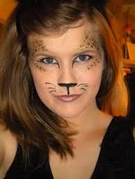 Kids Cheetah Halloween Costume Face Paint Cat Carnaval En Schmink Face Cat