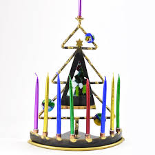 interfaith december holiday gifts hanukkah menorah christmas tree