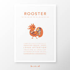 Zodiac Home Decor by Asian Chinese Zodiac Sign Print The Horse Home Decor