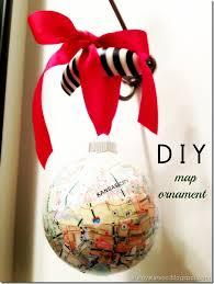 larson diy map ornament