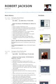 Truck Driving Resume Sample by Truck Driver Resume Samples Visualcv Resume Samples Database