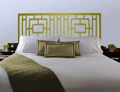 Vinyl Headboard Decal by Geometric Pattern Headboard Decal Moroccan Pattern Vinyl Wall