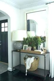 foyer mirrors entryway table mirror set foyer mirrors and tables fancy foyer