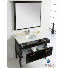 40 Bathroom Vanities 40 Fresca Platinum Antique Black Bathroom Vanity W