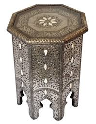 moroccan pierced metal table u2013 tazi designs