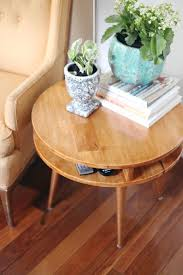 Round Decorator Table by Best 25 Round Side Table Ideas Only On Pinterest Shanty Chic