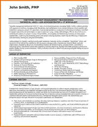 It Specialist Resume Sample by 9 Financial Resume Sample Financial Statement Form