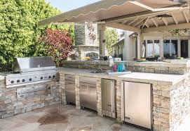 backyard kitchens the grate outdoors for backyard kitchens the sky s the limit