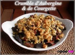 cuisiner aubergine crumble d aubergine et de courgette crumbles gratins