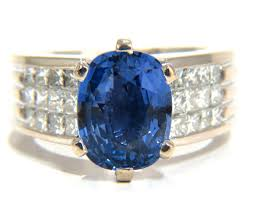 cornflower blue opal gia certified 5 52ct natural cornflower blue sapphire diamonds