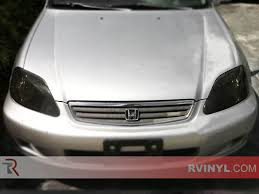 honda civic headlight rtint honda civic 1999 2000 headlight tint