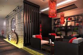 modern home design with unique look of oriental design oriental