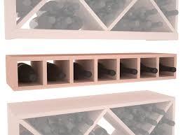 7 bottle conversion cubby living series wine rack