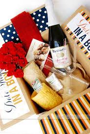 date basket ideas date in a box