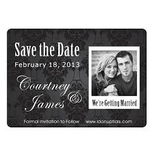 cheap save the date magnets black and white cheap save the date magnets inexpensive save