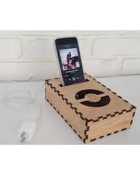 Cell Phone Holder For Desk Deals On Docking Station Cell Phone Speaker Passive Wood Iphone