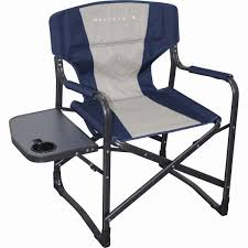 Folding Directors Chair With Side Table Wanderer Directors Chair With Side Table Bcf Australia
