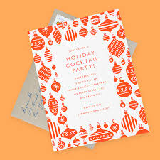 8 delightful holiday party ideas with matching invites