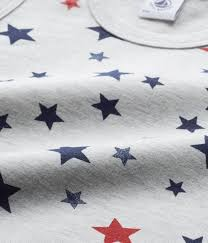 29 Star Flag Petit Bateau Jungen Unterhemd Sterne Grau Blau Rot 26125 29 Bei