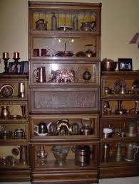 Globe Wernicke Bookcase 299 Rare Globe Wernicke Bookcase With Desk Drawer Base And Top