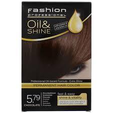 fashion professional haarcoloration oil u0026 shine chocolate 5 79
