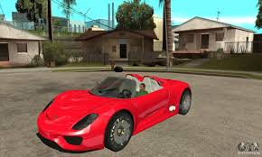 Porsche 918 Gta 5 - porsche 918 spyder for gta san andreas
