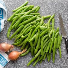 green beans garlic zest