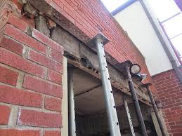 Overhead Garage Door Cincinnati by Garage Lintel Replacement