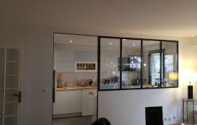 cuisine ouverte sur s駛our cuisine ouverte verrière couleurs et déco décoratrice d