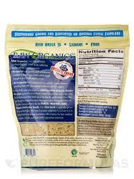 flax meal plus chia seeds 12 oz 340 grams