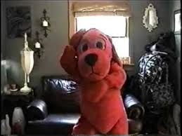 Clifford Big Red Dog Halloween Costume Clifford Big Red Dog Macarena
