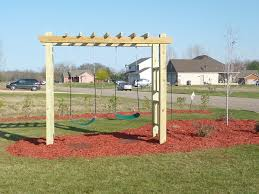 swing sets for small backyards amys office