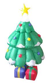 amazon com 5 foot animated christmas inflatable santa claus